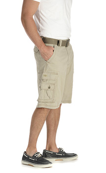 Lee Mens Wyoming Cargo shorts - Khaki