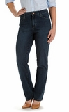 Lee Womens Relaxed Fit Straight Leg jeans - Stretch Denim