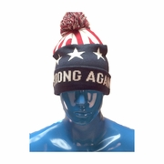 Make America Strong Again Knit Pom Cap