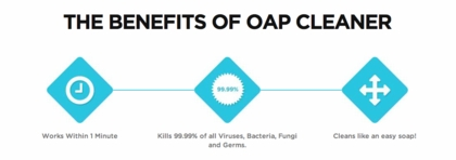 OAP Foaming Retainer Cleaner - Persulfate Free!