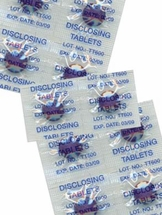Two-Tone Plaque Disclosing Tablets