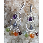 Chakra Chandalier Earrings