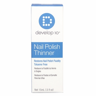 Develop 10 Nail Polish Thinner 0.5 oz.