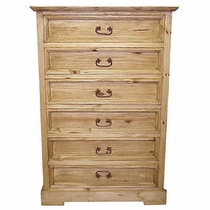6 Drawer Imperial Pine Dresser