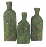 Aged Clay Pottery Accents from Mexico