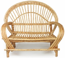 Bent Wood Twig Loveseat