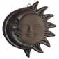 Brown Terra Cotta Eclipse Wall Hanging