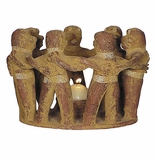 Circle of Friends Candle Holders and Pre-Columbian Candle Holders