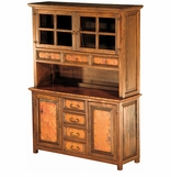 Copper and Old Wood Buffets & Hutches