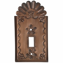 Crown Single Switchplates - Star Design