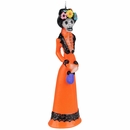 Day of the Dead Catrina Skeleton Candle