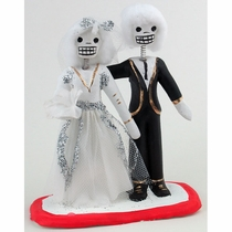 Day of the Dead Skeleton Bride & Groom