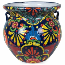 Extra Large Michoacana Talavera Flower Pot