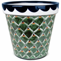 Extra Large Peacock Flower Pot