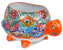 Extra Large Talavera Turtle Pot