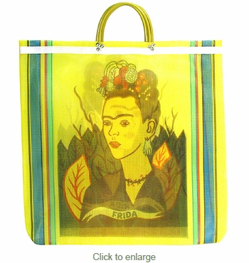 Frida Mexican Market Bag - 2 Bags