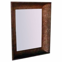 Hammered Concave Metal Frame - medium