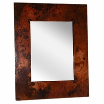 Hammered Copper Frame
