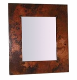 Hammered Copper Mirror Frames
