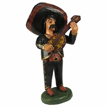 Hand Painted Wood Mariachi - Guitar
