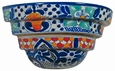 Hanging Traditional Talavera Wall Planter