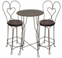 Ice Cream Parlor Set - Tall Bistro Table and 2 Chairs