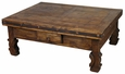 Iron Banded Ox Yoke Coffee Table