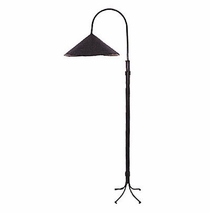Iron Floor Lamp & Shade
