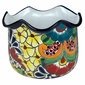 Japanese Talavera Flower Pot