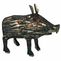 Javelina Metal Yard Art Sculptures