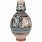 Jimon Bottle Vase - Tonala Pottery