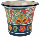 Jumbo Size Talavera Flower Pots - Assorted Designs