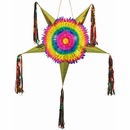 Large Star Pinata Decoration - Mexican Decorations - Set of 2
