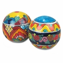 Large Talavera Garden Ornaments - Set of 2