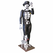 Life-Size Paper Mache Skeletons - Custom Special Order