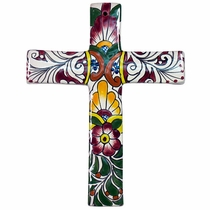 Medium Regular Talavera Cross