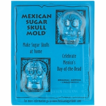Medium Sugar Skull Molds - 2 Sets
