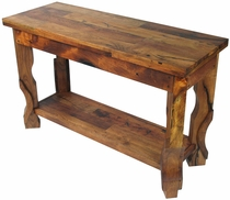 Mesquite Concave Leg Sofa Table