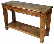Mesquite Catalina Tapered Leg Sofa Table