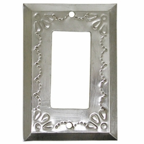 Metal Single Rocker Switchplates - Decorative Tin