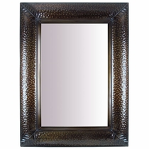 Mexican Hammered Tin Wall Mirror