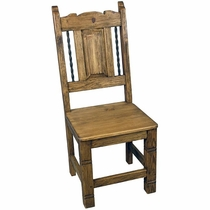 Mexican Iron Banded Dining Chair