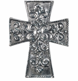 Mexican Pewter Crosses
