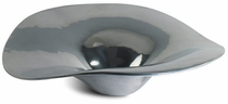 Mexican Pewter Sombrero Appetizer Plate