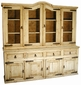 Mexican Rustic Pine Cupboard - Extra Large
