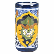 Mexican Talavera Water Glass