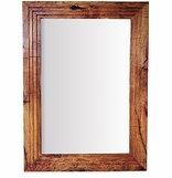 Mexican Wooden Frame Mirrors