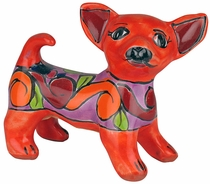 Mini Talavera Dog