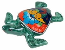 Mini Talavera Sea Turtle Wall D�cor