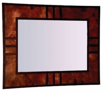 mission style copper frame